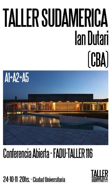 Visitas presenciales y debates con arquitectos invitados