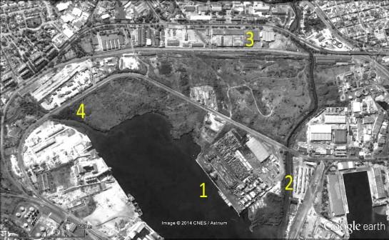 Areas de Proyecto_ 4 Terrenos