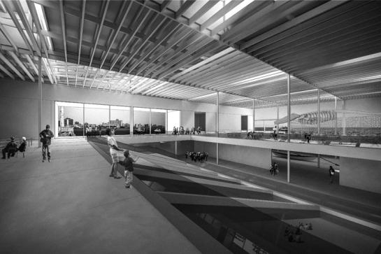 Interior Biblioteca - Museo